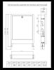 Caseta metalica Purmo swp-4 pentru colectori, 790x700-800x120-170mm , montaj incastrat, fbwcfs10a70079p0