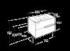 Mobilier suspendat Roca Victoria N Unik 80cm A855832806