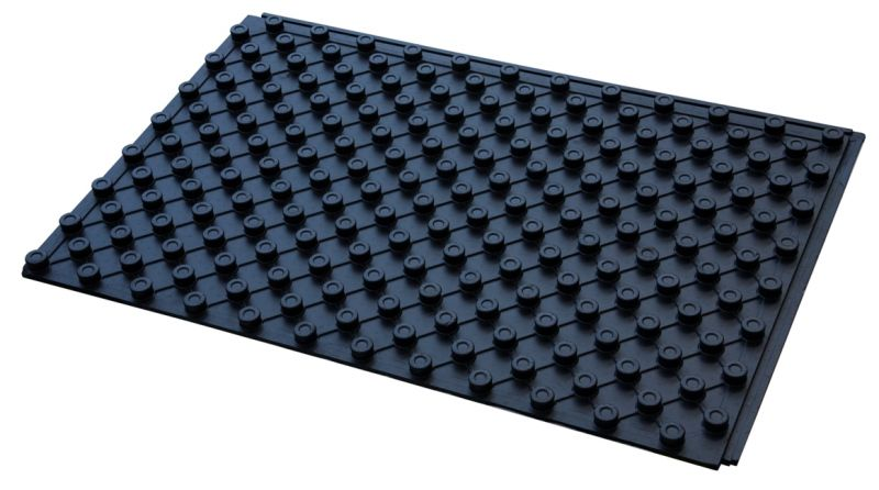 Placa cu nuturi incalzire pardoseala Rbm, pentru teava 16-20 mm, izolatie 25mm, 1571.25.00