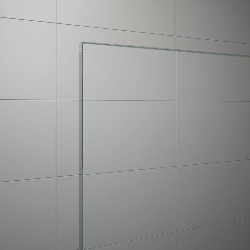 Cabina patrata dus SanSwiss Salia 80 x 80 x 190 cm, usa culisanta, cadita si sifon, SAE208005007