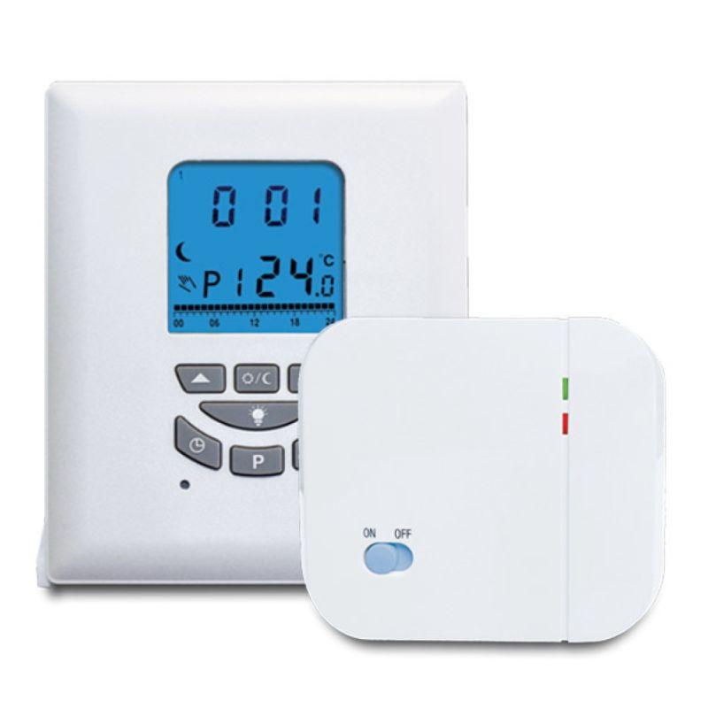 Termostat ambiental Salus T105RF wireless, programabil